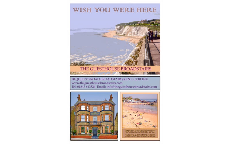 The Guest House Broadstairs - Wish You Were Here