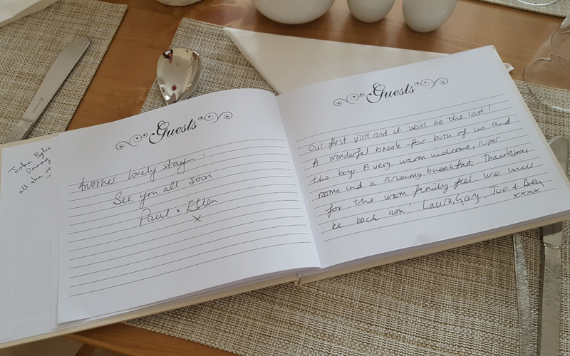 The Guest House Broadstairs - Testimonials